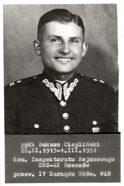 Upamiętnienie ppłk Łukasza Cieplińskiego