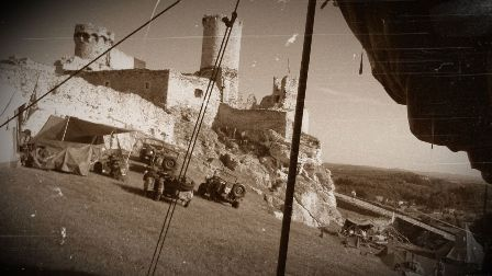 Ogrodzieniec – inscenizacja bitwy pod Monte Cassino