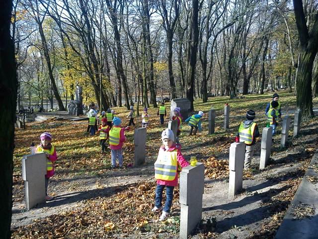 Wizyty na grobach Ułanów Poznańskich