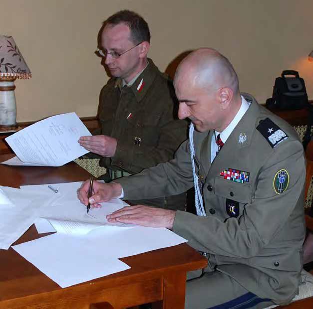 umowa z wojskiem